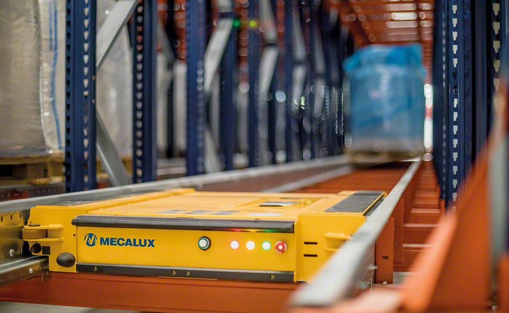 Pallet Shuttle: akumulační systém skladování