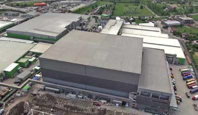 Mecalux buduje jedno z nejvyšších logistických center v Evropě