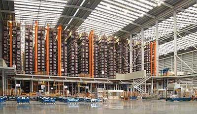 Skupina Porcelanosa pověřuje firmu Mecalux pracemi na rozšíření svého logistického centra