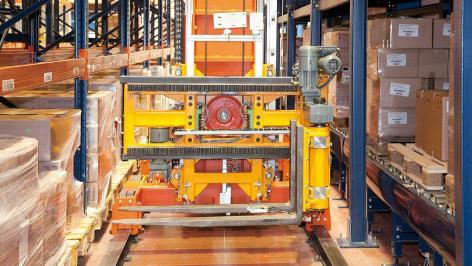 Mecalux vždy v pohybu s logistickým operátorem Disalfarm