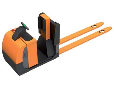 Vozíky pro kompletaci objednávek na úrovni podlahy s podestou