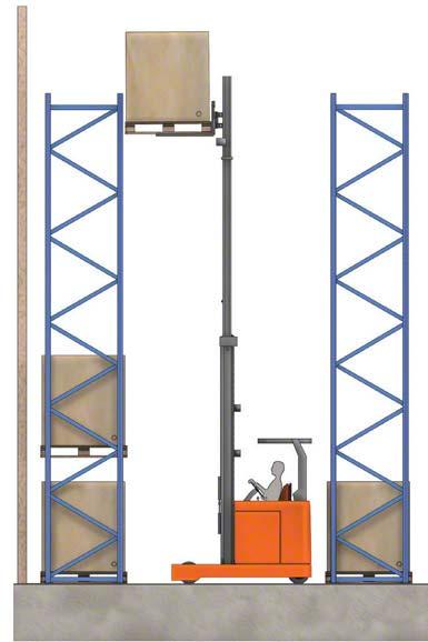 Některé retraky mohou zvednout náklad do výšky přes 10 metrů