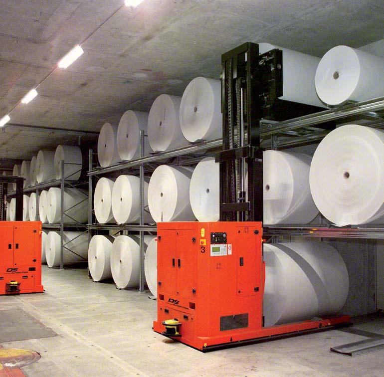 Logistické a překládkové centrum zpracování ryb.
