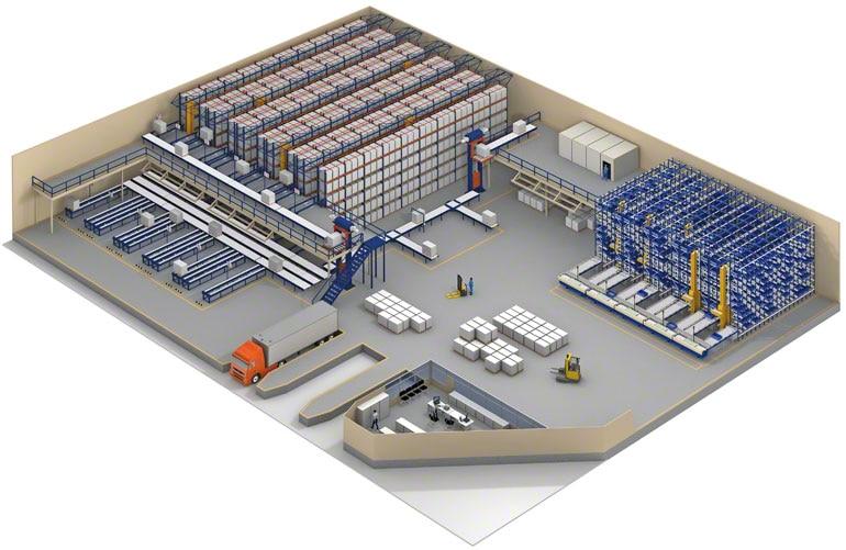 Skladový software může být používán pro zboží mnoha různých zákazníků.