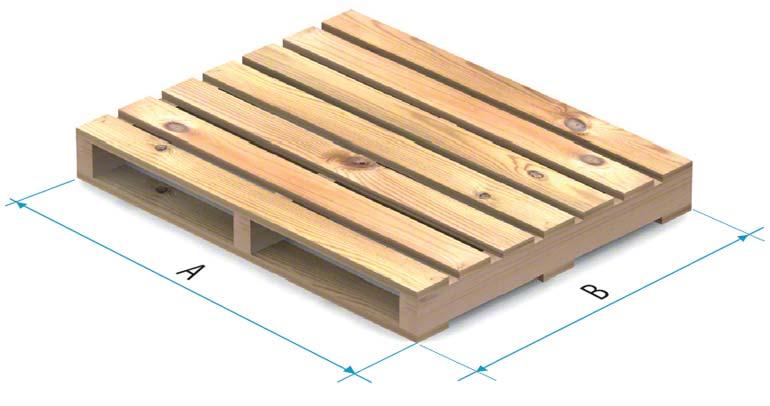 Dřevěná paleta typu 3
