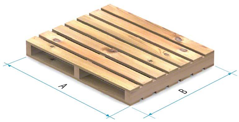 Dřevěná paleta typu 4