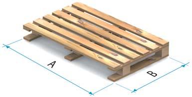Dřevěná paleta typu 5B