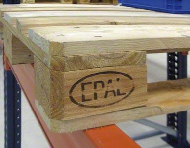 Euro paleta je označována značkou EPAL