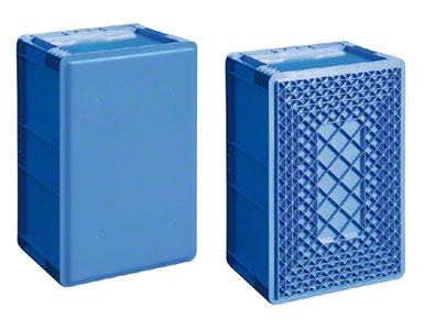 Kontejner s vyztuženým dnem v závislosti na zatížení a také na použitém překládkovém systému