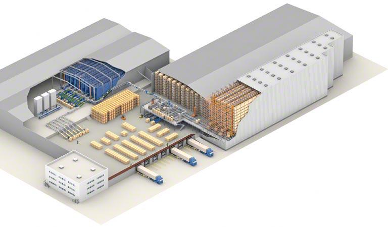 Návrh centrálního skladu