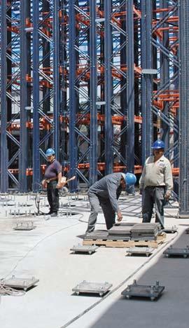 Etapa stavby skladu