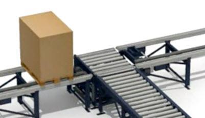 Přepravní válečkovo-řetězový modul